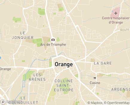 Localisation Fondation La Providence Services de la Protection de l'Enfance - 84100 - Orange