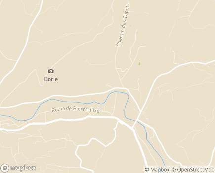 Localisation Maison d'Accueil Spécialisée Tourville - 84400 - Saignon