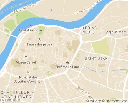 Localisation Les Jardins d'Avénie - 84000 - Avignon