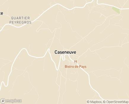Localisation Foyer de Vie Tourville - 84750 - Caseneuve