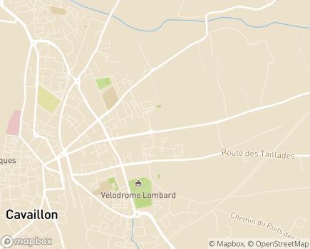 Localisation Domitys Les Cigales du Lubéron - Résidence avec Services - 84300 - Cavaillon