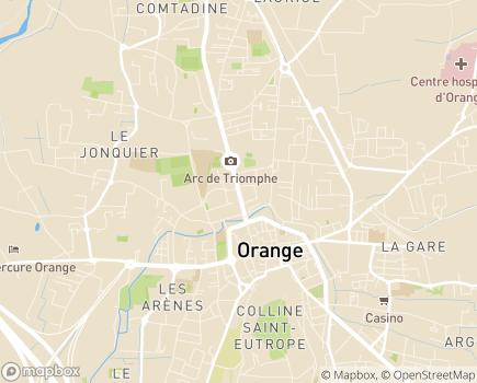 Localisation Domitys La Cité des Princes - Résidence avec Services - 84100 - Orange