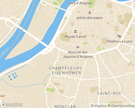 Localisation Les Jardins d'Arcadie Avignon - 84000 - Avignon
