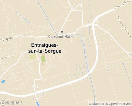 Localisation EHPAD Le Clos de la Garance - 84320 - Entraigues-sur-la-Sorgue