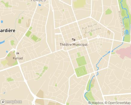 Localisation Conseil Départemental de l'Ordre des Médecins de la Vendée - 85000 - La Roche-sur-Yon