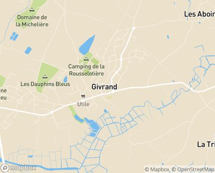 Localisation Colisée - Résidence Les Iris - 85800 - Givrand