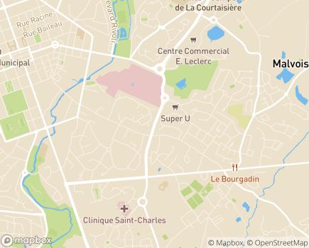 Localisation HAD Vendée - 85925 - La Roche-sur-Yon