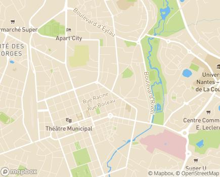 Localisation Korian Le Cardinal - 85000 - La Roche-sur-Yon