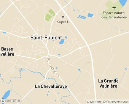 Localisation MFREO de L'IREO de Saint-Fulgent - 85250 - Saint-Fulgent