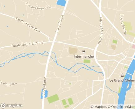 Localisation Résidence Autonomie Tivoli - 86100 - Châtellerault