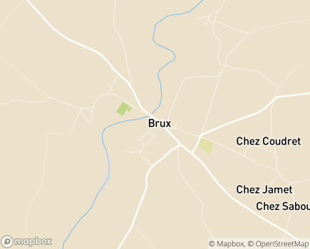 Localisation Centre Communal d'Action Sociale - 86510 - Chaunay