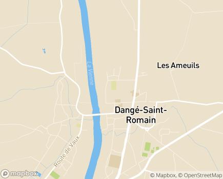 Localisation Foyer Résidence Le Floréal - 86220 - Dangé-Saint-Romain