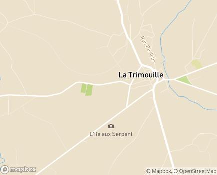 Localisation Korian Les Albizzias - 86290 - La Trimouille