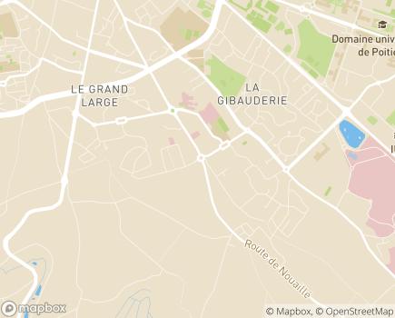 Localisation AURA Poitou-Charentes - Dialyse Vienne - Charente - Deux-Sèvres - 86281 - Saint-Benoît