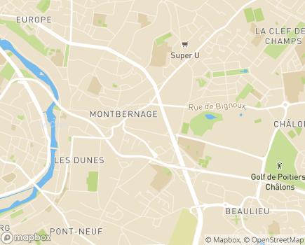 Localisation Présence Verte Services - 86000 - Poitiers