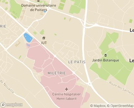 Localisation Aide aux Mères de Famille - 86100 - Châtellerault