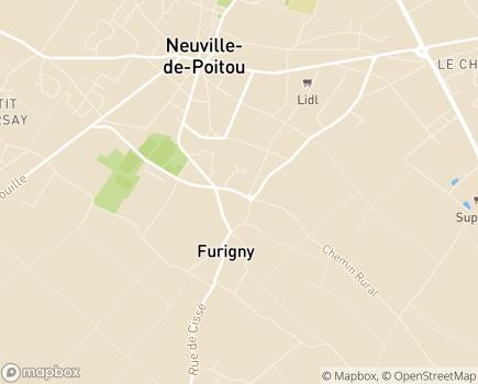 Localisation EHPAD Résidence Les Jardins de Charlotte - 86170 - Neuville-de-Poitou
