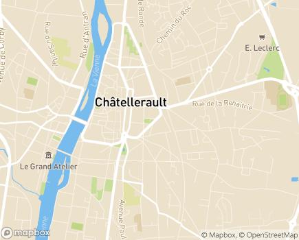 Localisation EHPAD - USLD Le Village - 86106 - Châtellerault
