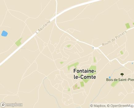 Localisation Résidence Services Les Jardins de Salomé - 86240 - Fontaine-le-Comte