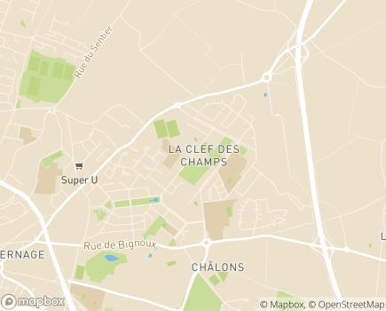Localisation Domitys La Clef des Champs - Résidence avec Services - 86000 - Poitiers
