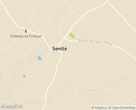 Localisation EHPAD MBV - la Tour de Vigenna - 86100 - Senillé