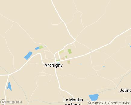 Localisation Résidence Autonomie pour Personnes Agées Archigny - 86210 - Archigny