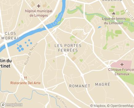 Localisation Scanner Privé du Limousin - 87000 - Limoges