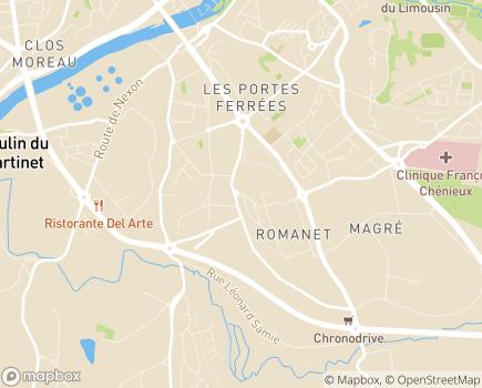 Localisation Présence Verte Limousin - 87000 - Limoges
