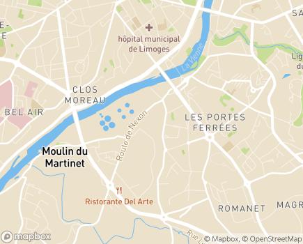 Localisation A.L.U.R.A.D. - 87000 - Limoges