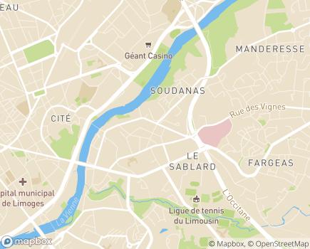 Localisation SAP 87 - Services A la Personne 87 - 87000 - Limoges