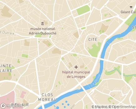 Localisation Centre Local d'Information et de Coordination - 87000 - Limoges