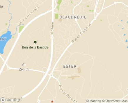 Localisation SSIAD Service de Soins Infirmiers à Domicile - 87280 - Limoges