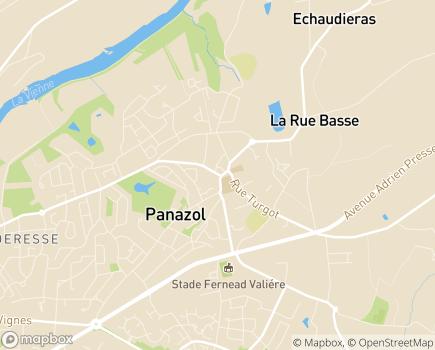 Localisation Domitys Les Châtaigniers - Résidence avec Services - 87350 - Panazol