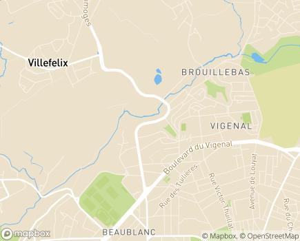 Localisation ADN 87 - 87100 - Limoges