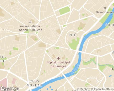 Localisation Générale des Services Limoges - 87000 - Limoges