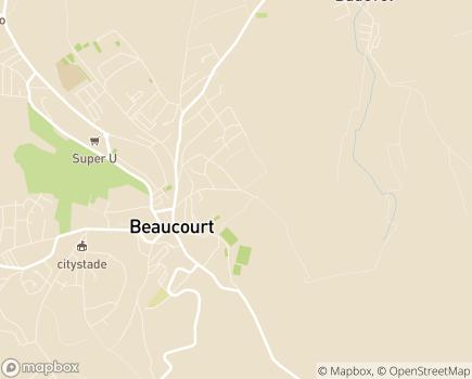 Localisation EHPAD La Maison Blanche et Arc-en-Ciel Services - 90500 - Beaucourt