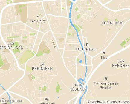 Localisation Azaé - 90000 - Belfort