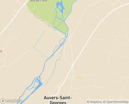 Localisation ESAT Les Ateliers de Chagrenon - Etablissement National A. Kœnigswarter - 91580 - Auvers-Saint-Georges