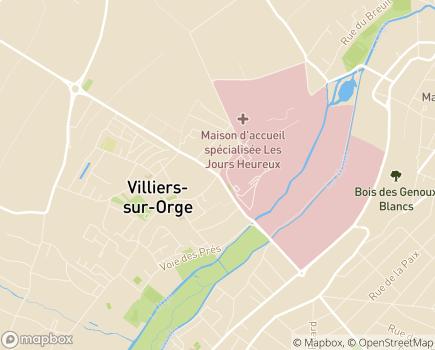 Localisation Le Cercle des Ainés Epinay-sur-Orge - 91360 - Épinay-sur-Orge