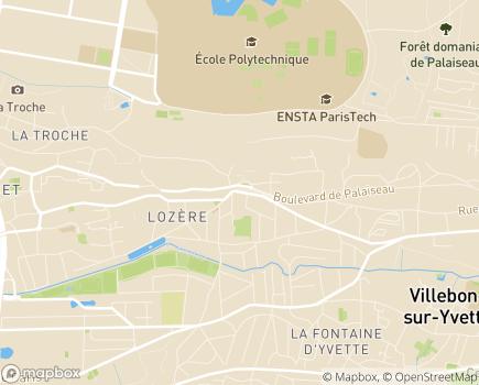 Localisation CFPE Etablissements Centre Maternel Villa Jeanne - 91120 - Palaiseau