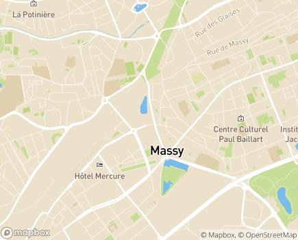 Localisation EHPAD Résidence de Massy-Vilmorin - 91300 - Massy