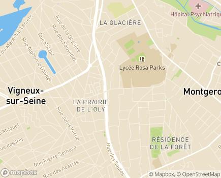 Localisation Placement Familial Le Nouzet Croix Rouge Française - 91230 - Montgeron