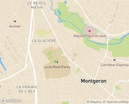 Localisation AMADPA - Association de Maintien à Domicile de Personnes Agées - 91230 - Montgeron