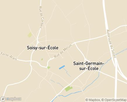 Localisation Résidence avec Services Domaine des Réaux - 91840 - Soisy-sur-École