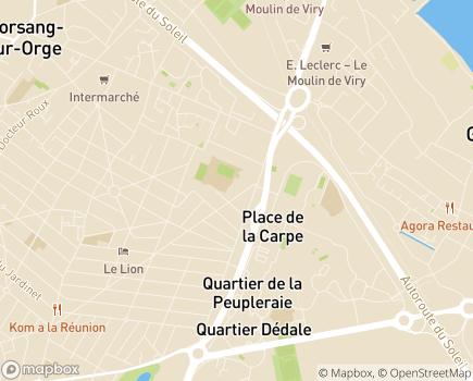 Localisation Résidence La Forêt - 91170 - Viry-Châtillon