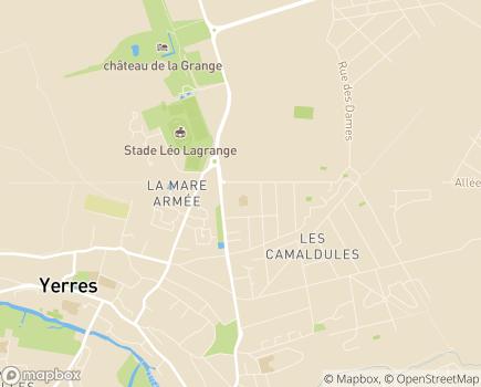 Localisation Altérité - ESAT La Châtaigneraie - 91330 - Yerres