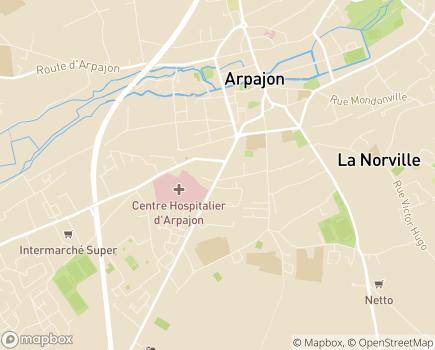 Localisation AAPISE - Association d'Appui à la Participation, à l'Inclusion Sociale et Environnementale - 91290 - Arpajon