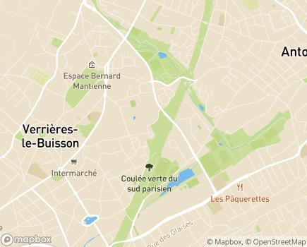 Localisation Résidence Services Paul Gauguin - 91370 - Verrières-le-Buisson
