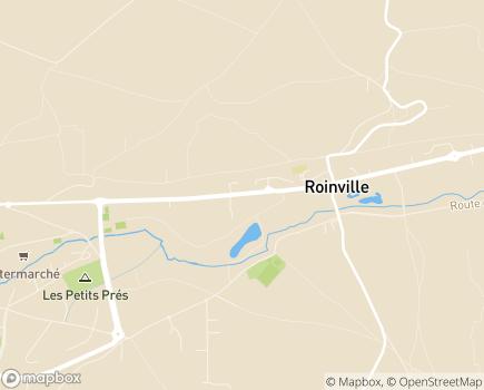 Localisation EHPAD Les Jardins de Roinville - 91410 - Roinville