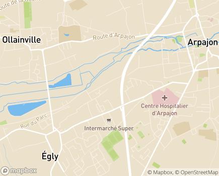 Localisation ESAT Les Ateliers du Vieux Châtres, Antenne Egly - 91520 - Égly